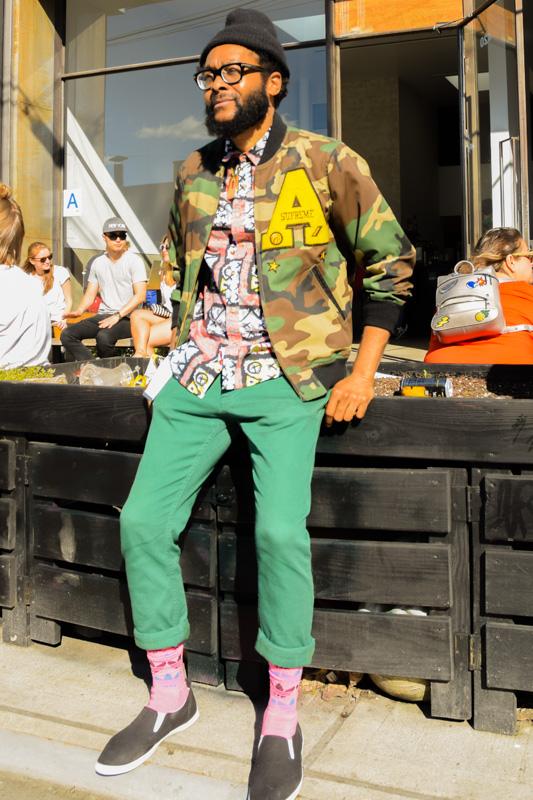 ファッションスナップ #27定番アイテムを身につけても、他と被らない方法