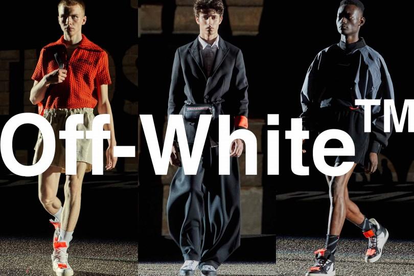 "OFF-WHITE c/o VIRGIL ABLOH™のポップアップストア""IN ORDER"""