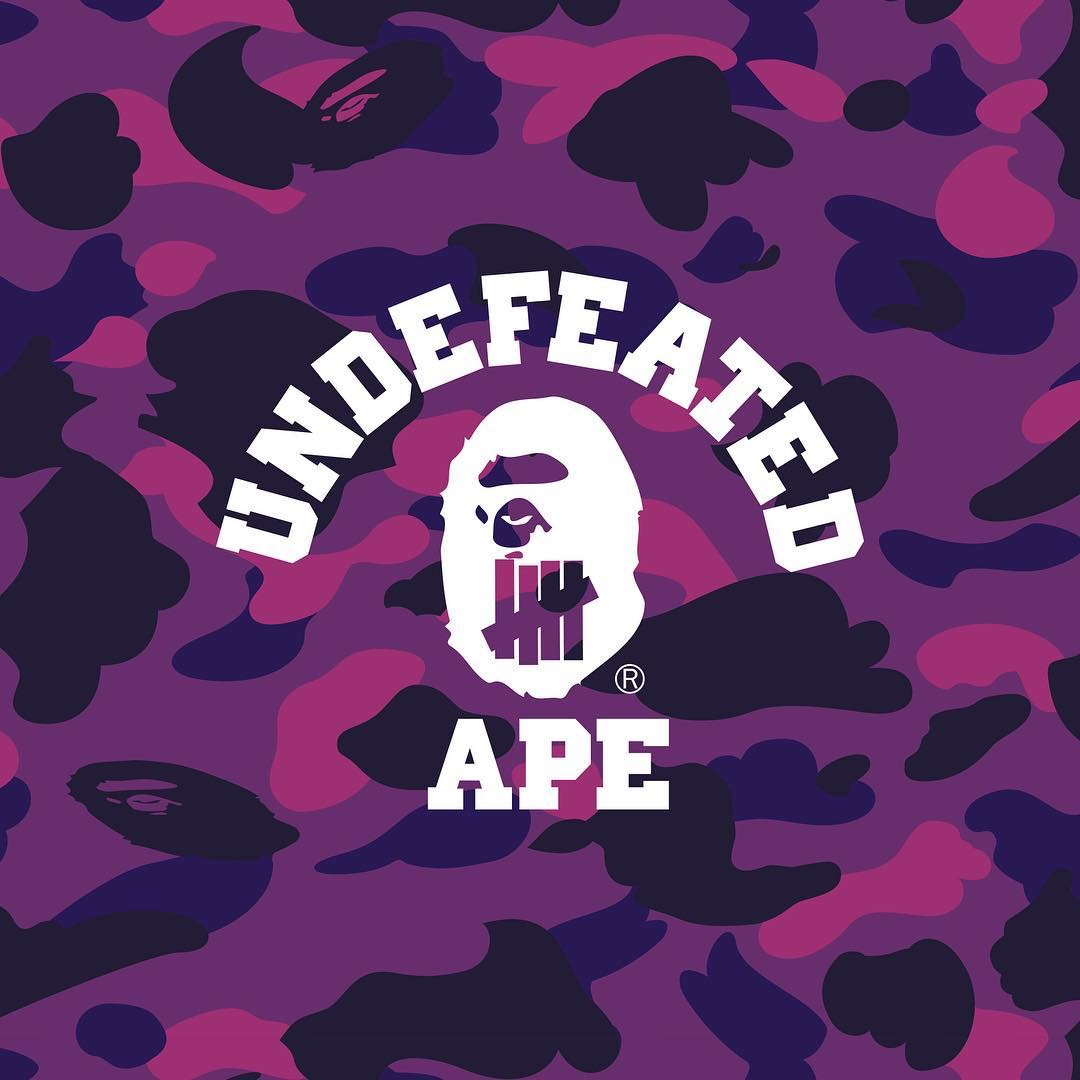 bape undefeated