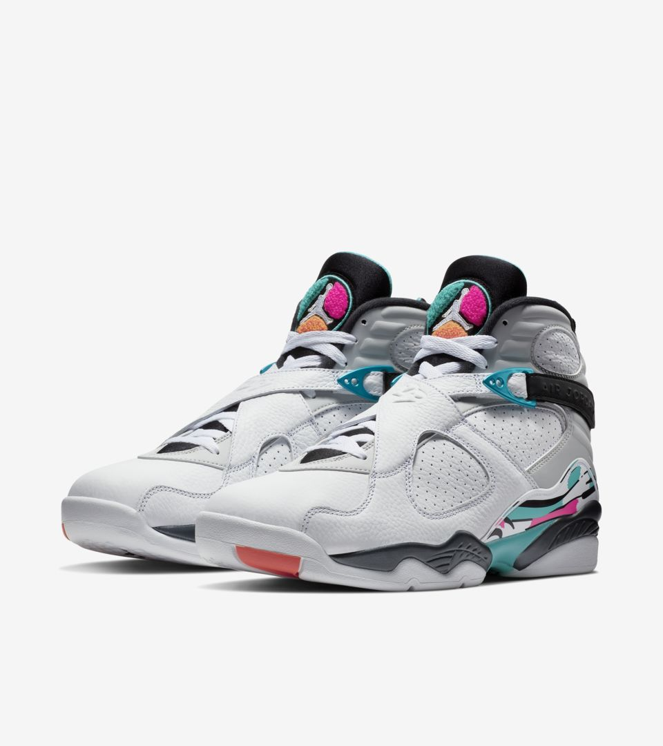 AIR JORDAN 8 WHITE/TURBO GREEN