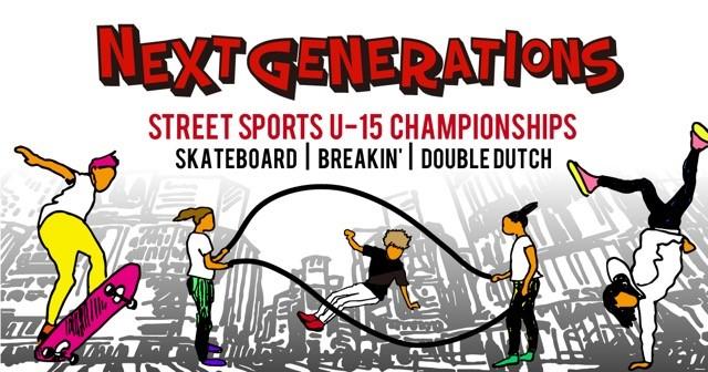 ストリートなイベント【東京】Next Generations 渋谷のド真ん中でストリートの若き才能が激突!