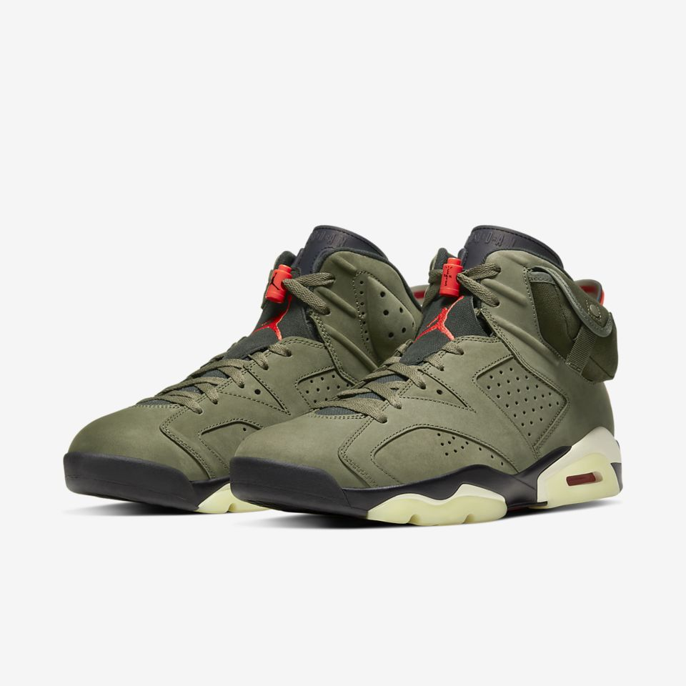 どんな時でも「NIKE AIR JORDAN 6 TRAVIS SCOTT」光輝く