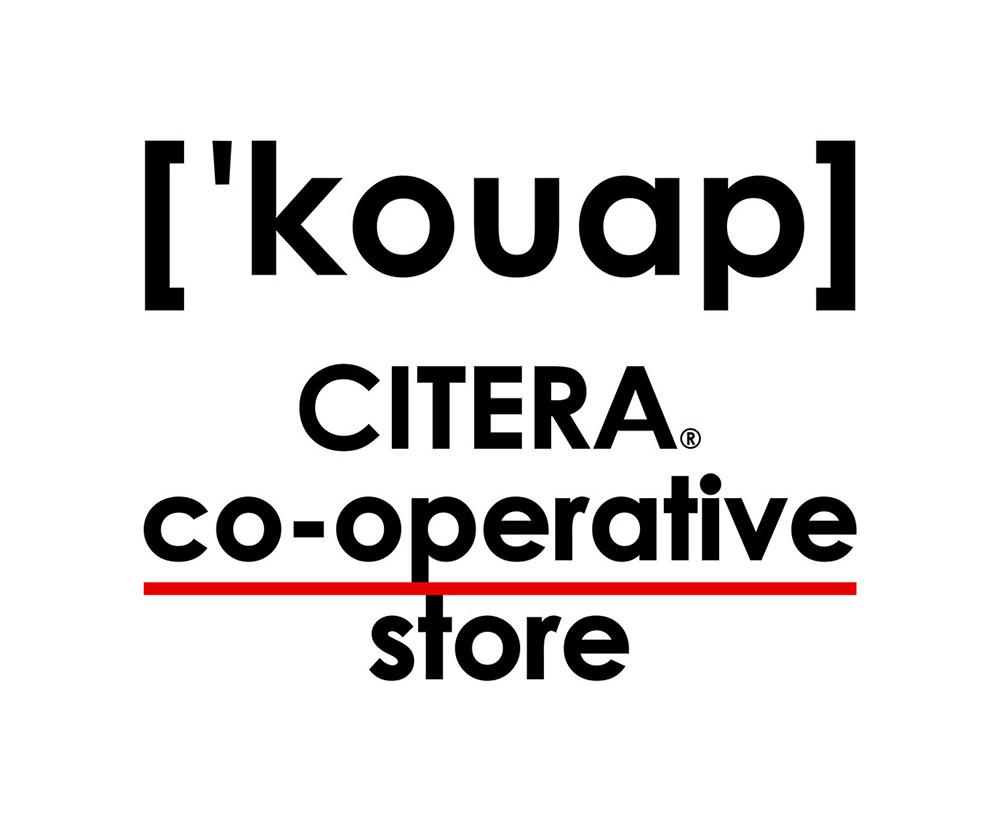 ストリートなイベント【京都】CITERA® co-operative store 『'kouap』 「海外の生協」をイメージしたポップアップ開催!
