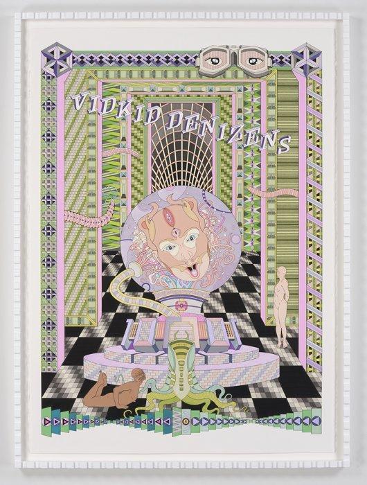 ストリートなイベント【東京】ジェス・ジョンソン個展 『NEON MEAT DREAM』 高密度な幻想世界を表現するアーティスト!