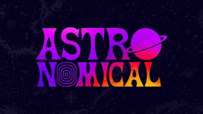 ストリートなイベント【ネット配信】Astronomical 米ラッパー・Travis Scottをフィーチャーした音楽の旅に乗り出そう!