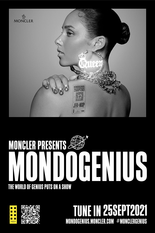 ストリートなイベント【ネット配信】MONDOGENIUS MONCLER GENIUSがアリシア・キーズをホストに迎え、デジタルショーを開催!